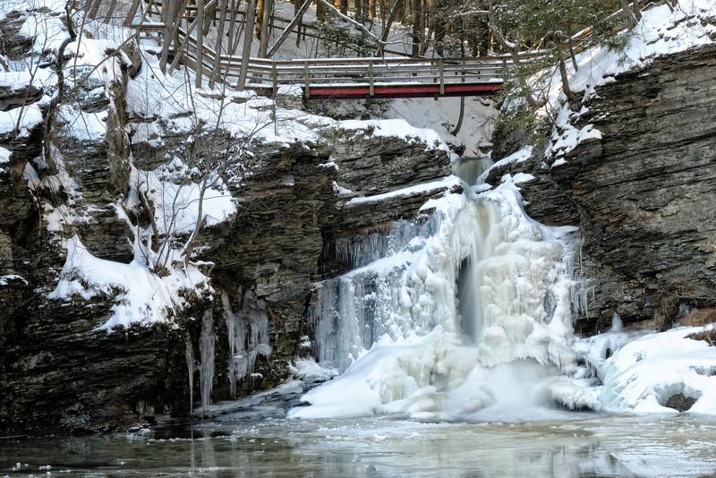 Deer Leap Falls (30 ft)