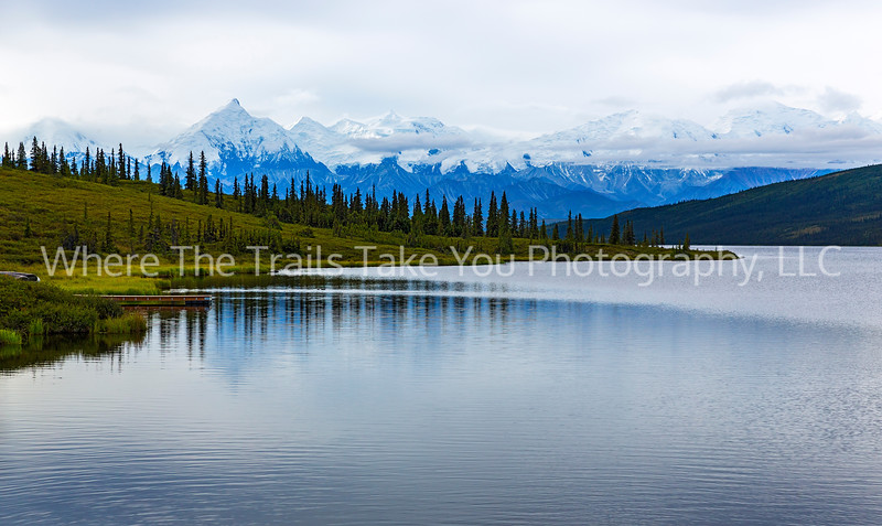 3.  Wonder Lake and the Alaska Range