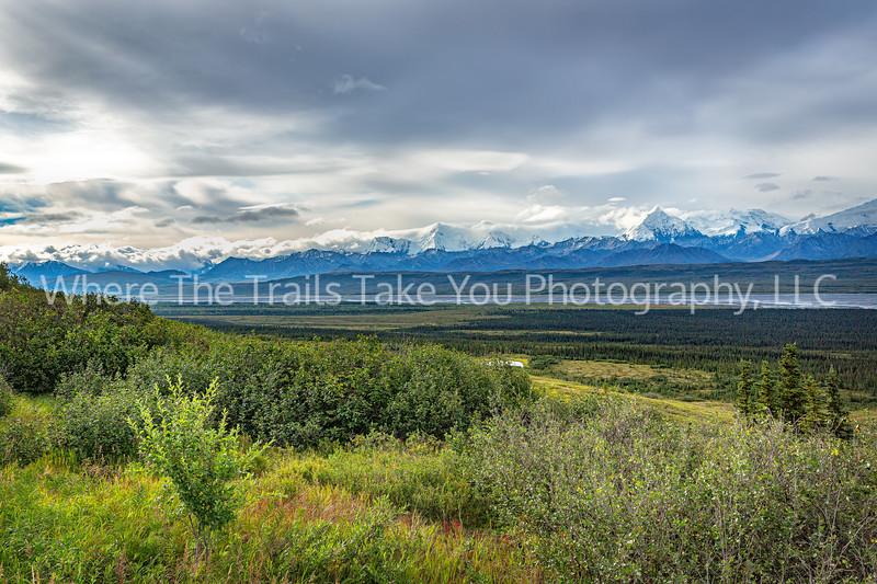 9.  Alaska Range Scenery