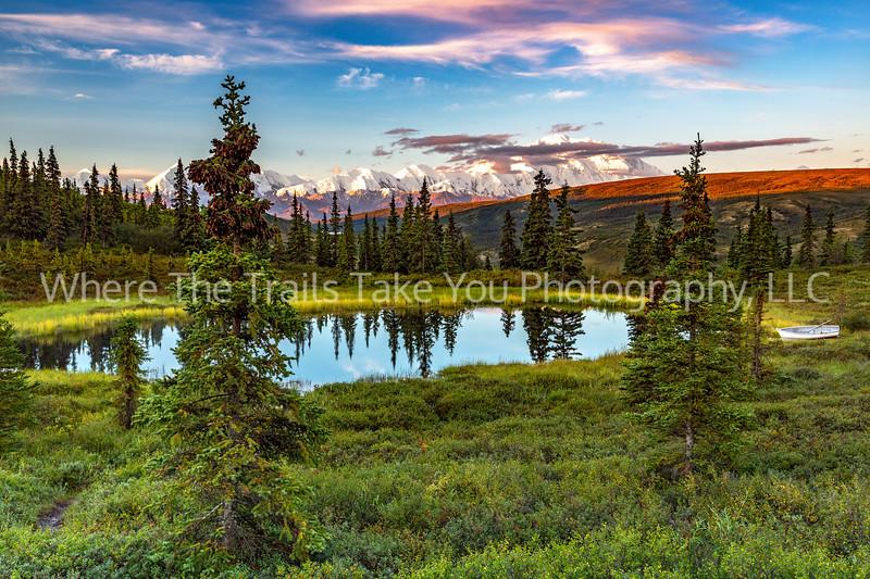 26.  Nugget Pond And The Alaska Range
