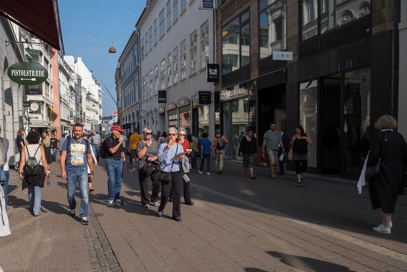 Copenhagen's Strøget (shopping street)