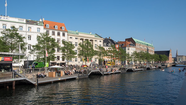 One of Copenhagen's many canals