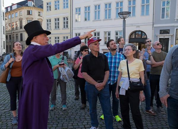Copenhagenwalks tour with HC Andersen (aka Richard)