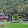 New Borgund Church & Borgund Stave Church