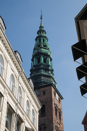 Lots of towers in Copenhagen - St Nicholas Church