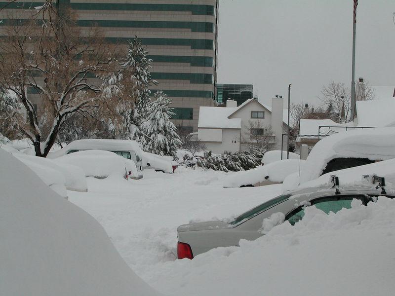 Hotel parking lot