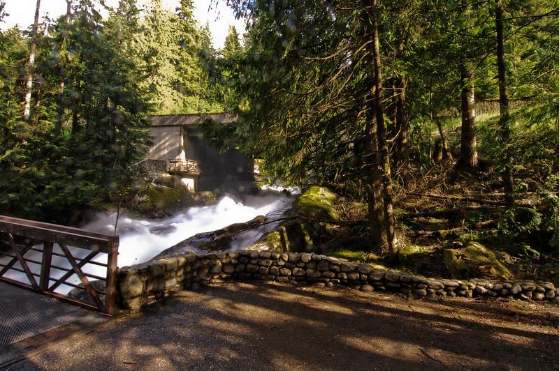 Upper Falls & View of Hwy 2.