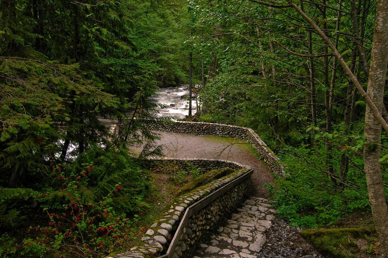 Upper Falls Walkway near HWY 2