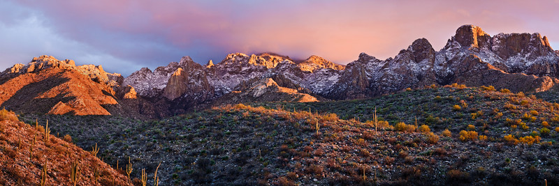 5) Santa Catalina Mountain Sunset 201001231645