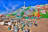 """Salvation Mountain"" at Salton Sea California."