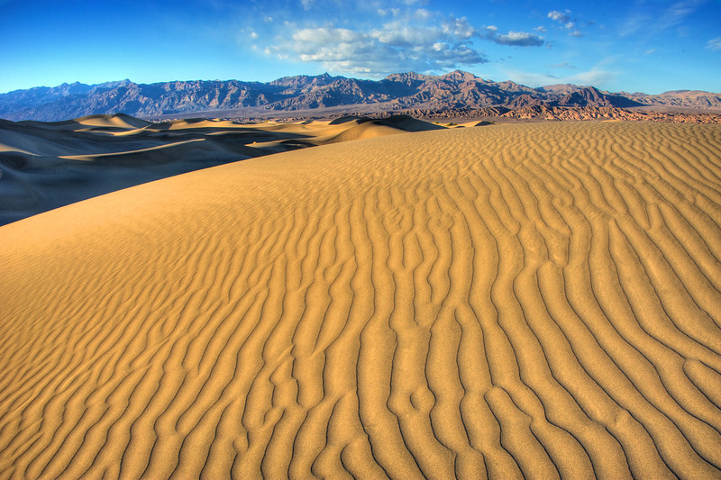 Dunes of Death Valley.