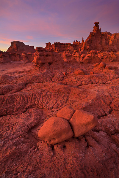 Interesting Shapes and Textures throughout Goblin Valley SP, Utah
