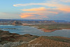 Lake Powell Wahweap Marina sunset