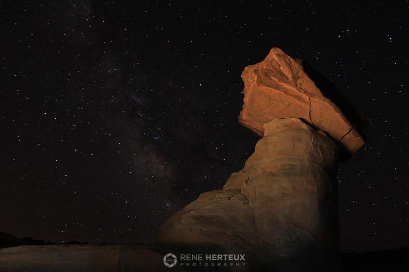 Stud Horse Point starry sky hoodoo