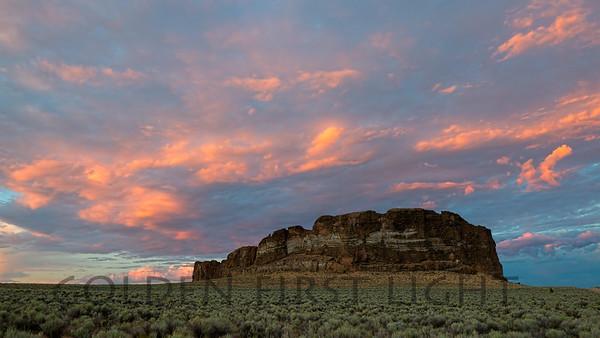 Fort Rock, central Oregon