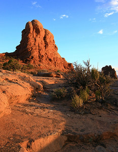 Sunset Rock, Arches National Park, Utah