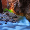 Virgin Flowing,<br /> Zion, Utah