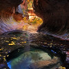 Deep Canyon Pools, <br /> Zion, Utah.