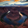 Horseshoe Sunset,<br /> Arizona.