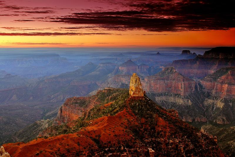 Imperial Sunrise,<br /> Grand Canyon National Park, AZ
