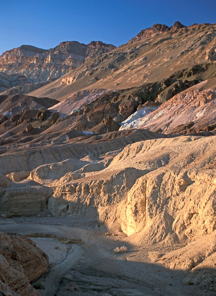 Artist's Pallette close to sunset, Death Valley National Park, California