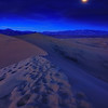 Moonlit Dunes,<br /> Death Valley, CA