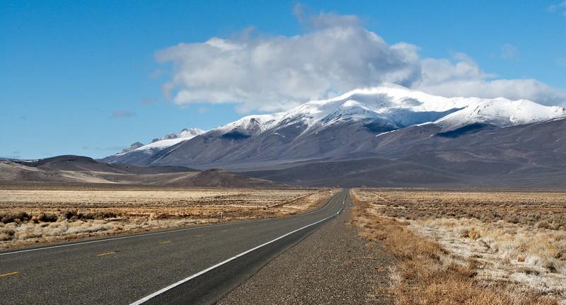 Road to Nowhere, Nevada Desert
