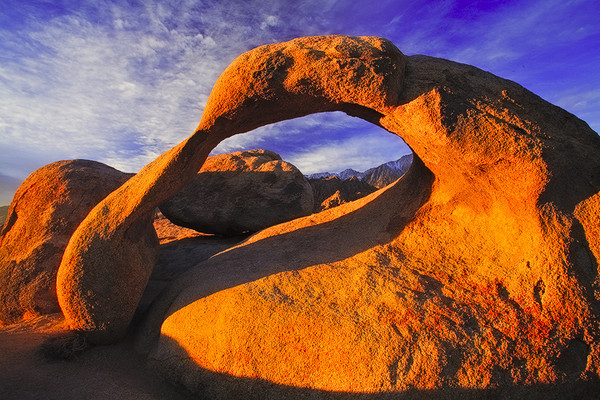 The Arch,<br /> Alabama Hills, CA