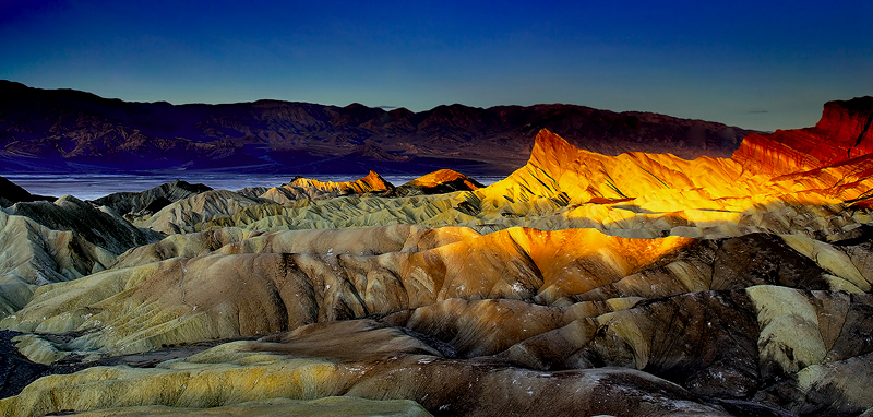 Zabriskie Sunrise,<br /> Death Valley National Park, CA