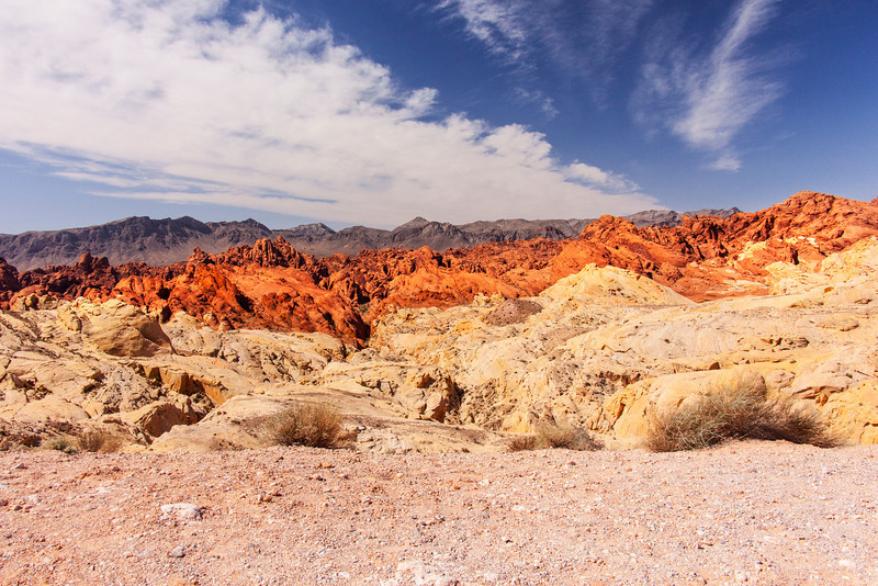 Wide View of The Valley of Fire State Park, Nevada