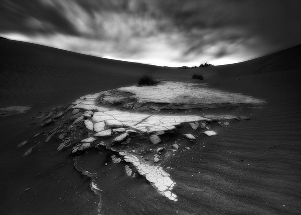 Twilight hours,<br /> Death Valley, CA