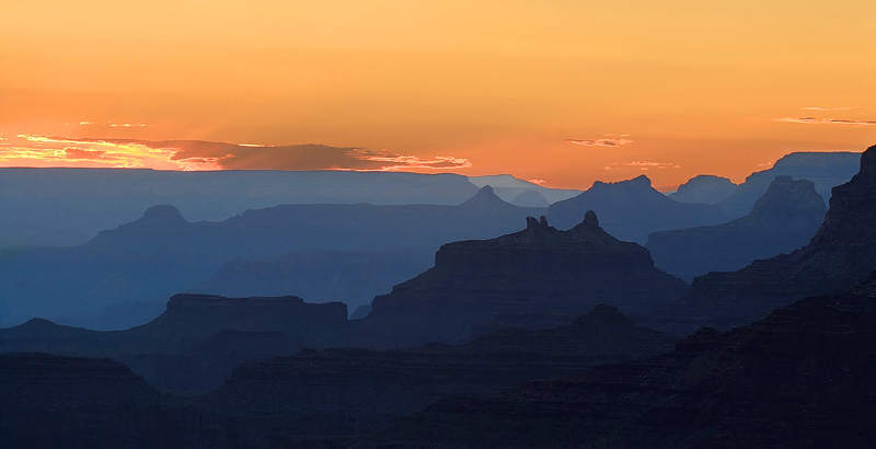 <p>Desert Sunset</p> Grand Canyon National Park, AZ