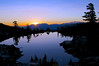 Sunrise, Jabu Lake, Desolation Wilderness
