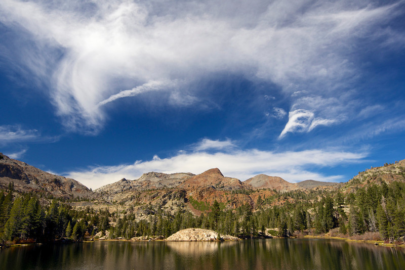 Grass Lake, Jack's Peak, Dick's Peak, Desolation Wilderness