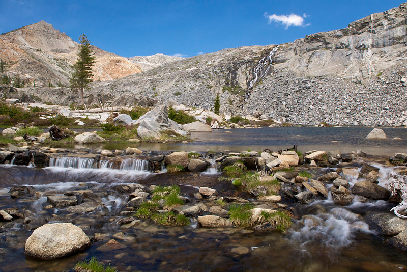 Twin Lakes Outlet, Desolation Wilderness, CA