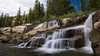 Twin Lakes Creek Falls, Desolation Wilderness, CA