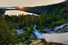 Sunrise, Cascade Falls, Cascade Lake, Lake Tahoe, CA