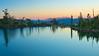 Sunset, Jabu Lake, Desolation Wilderness