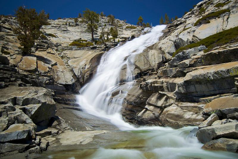 Horsetail Falls, Desolation Wilderness, CA.