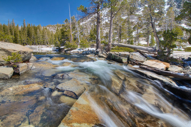 Pyramid Creek, Avalanche Lake Outlet, Desolation Wilderness