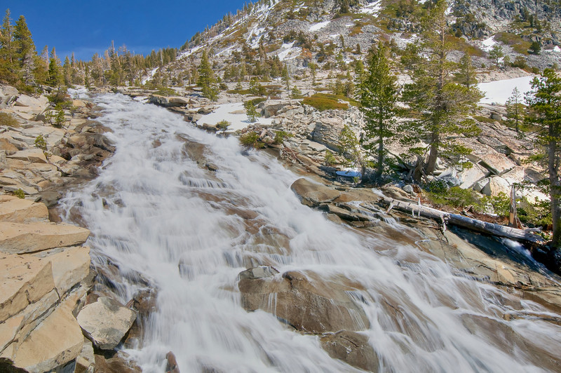 Horsetail Falls, Desolation Wilderness