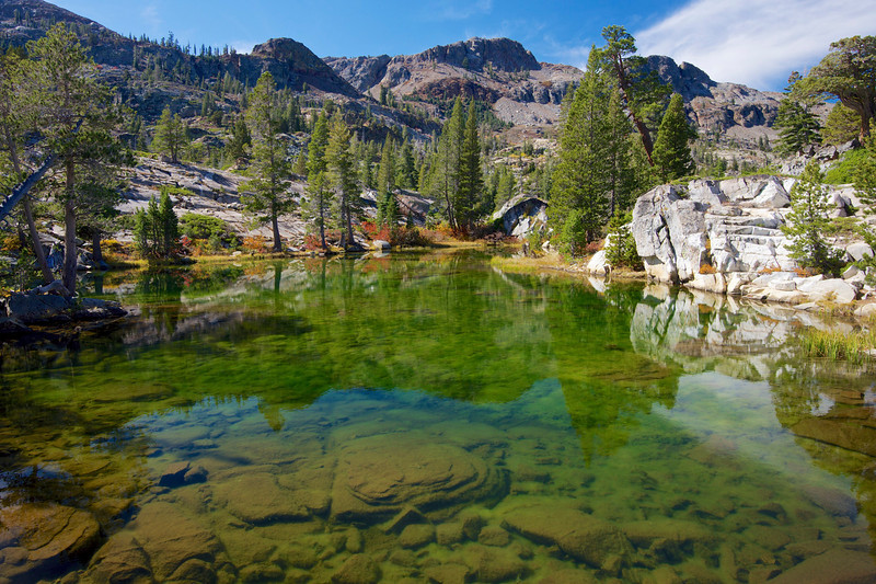 Sparkle Pond, Cracked Crag, Desolation Wilderness