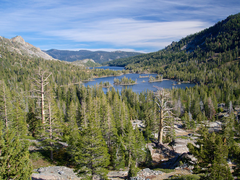 Echo Lakes, Flagpole Peak, Desolation Wilderness