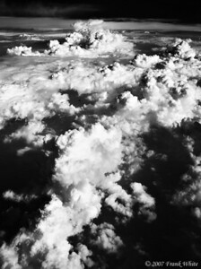 IR Clouds from the air #6