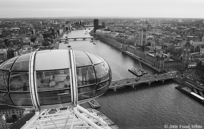 IR View from the London Eye