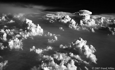 IR Clouds from the air #2