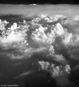 IR Clouds from the air #4
