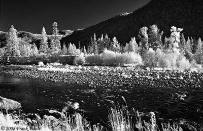 Clark's Fork Yellowstone River - IR