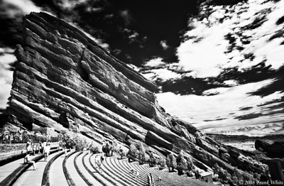 Red Rocks amphitheater IR, Colorado