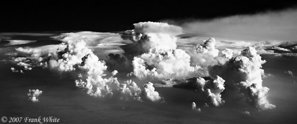 IR Clouds from the air #3